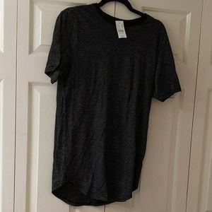 men's scalloped t-shirt